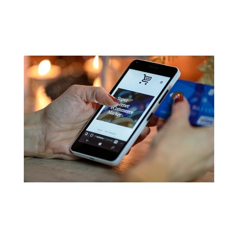 Paiement en ligne sur mobile