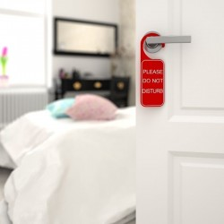 porte chambre pancarte do not disturb
