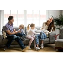 Une famille recomposée réussie