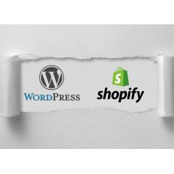 WordPress ou Shopify : lequel choisir ?