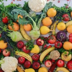 Des fruits et legumes couleur arc en ciel