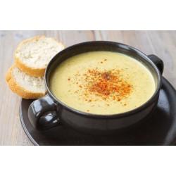 Bol de soupe à la châtaigne d\'Ardèche