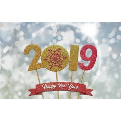 Joyeux année 2019