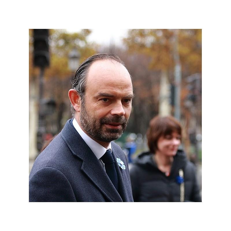 Edouard Philippe aux cérémonies du 11 novembre 2017
