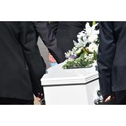 Déroulement de la mise en bière, appelée aussi mise en cercueil
