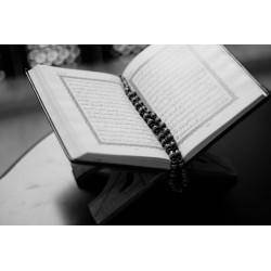 Le Saint Coran, le livre saint des musulmans.