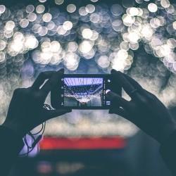 Smartpone prenant une photo