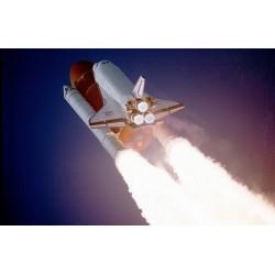 fusée qui décolle