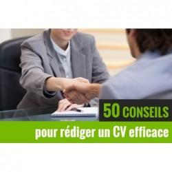 Les 50 meilleurs conseils pour faire un CV efficace