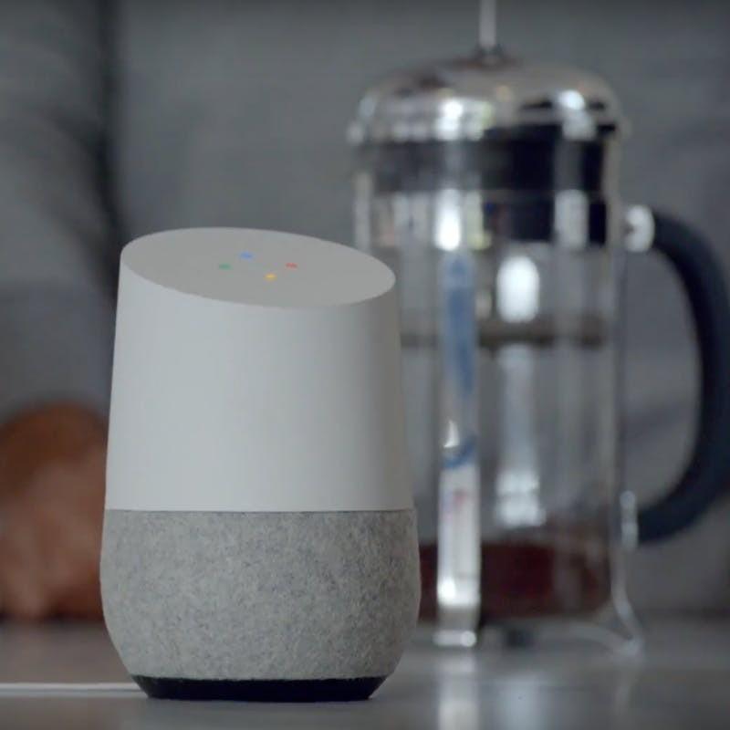 Google Home, l\\\'enceinte connectée