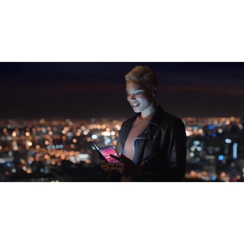 Le leak d\'une vidéo dévoile le supposé Samsung Galaxy pliable ?