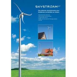Le Skystream 3.7: une puissante éolienne de 2,4 kW