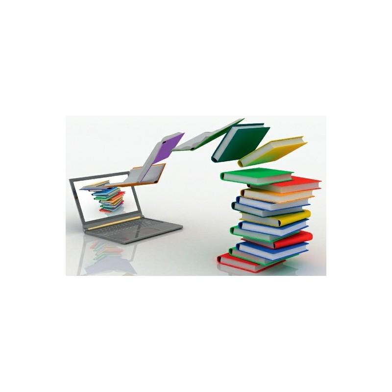 Des documents entrent dans un PC