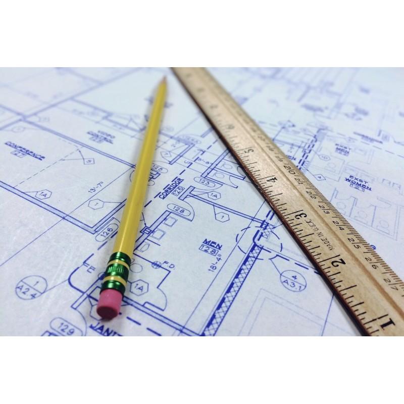 Plan d\\\'architecte