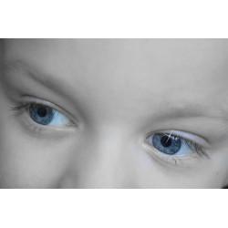 Votre enfant aura les yeux bleus ou marron?