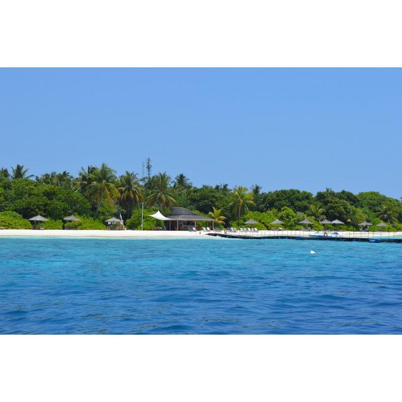 Plage îles Maldives