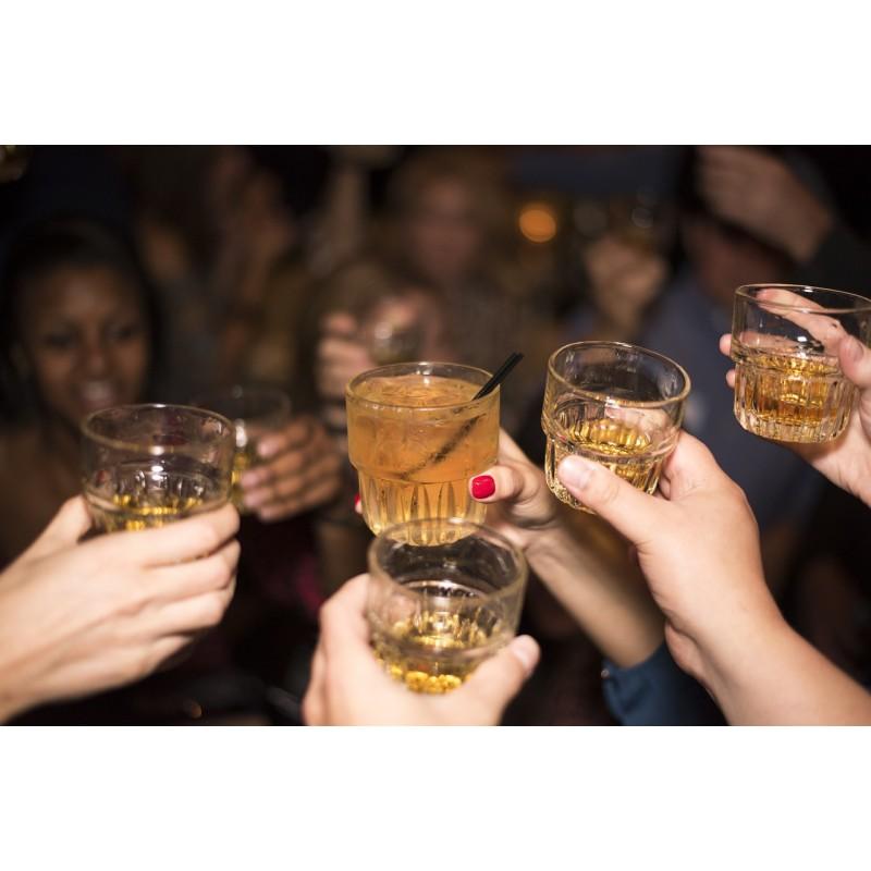 amis, verres, soirée