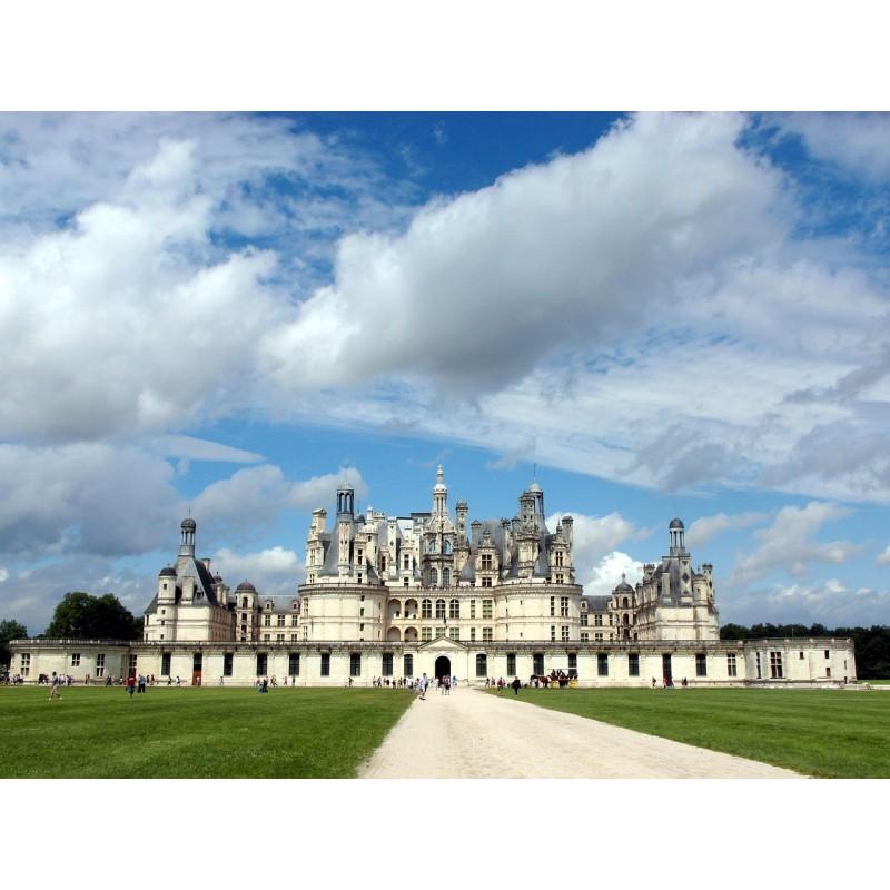 Le magnifique château de Chambord dans le Val de Loire