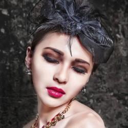 maquillage visage triangulaire femme