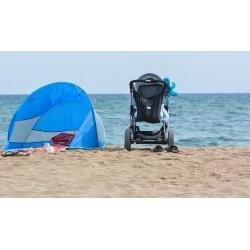 Bébé à la plage. Comment bien choisir son parasol ?