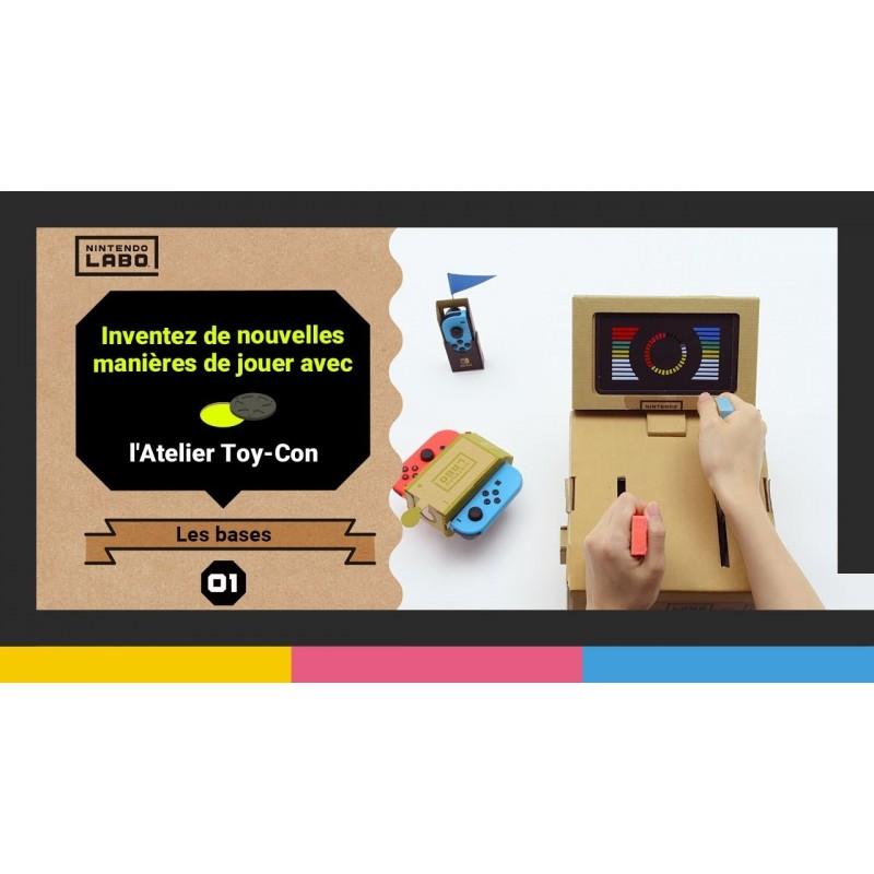 1er épisode de l\\\'Atelier Toy-Con du Nintendo Labo