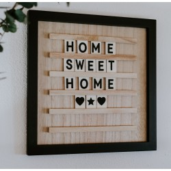 Tableau Home Sweet Home