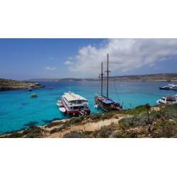 Malte. Escapade sur l'île de Comino, un petit coin de paradis.