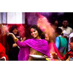 Comment fêter Holi en Inde ?