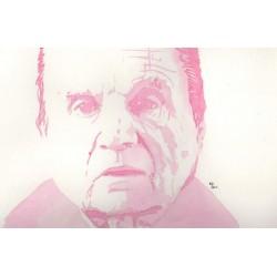 Portrait de l\'artiste Francis Bacon