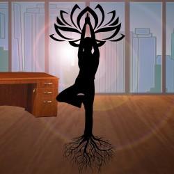 La posture de l'Arbre – Vrksasana