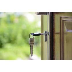 clé sur la porte, achat immobilier