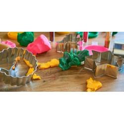 Atelier pâte à modeler ou pâte à el maison