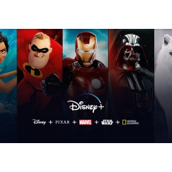 Lancement de Disney+ le 7 avril 2020