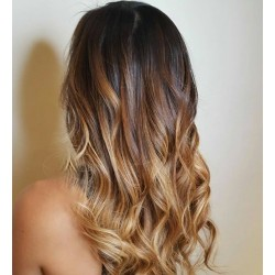 Une chevelure féminine