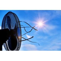 Le ventilateur est de sortie avec l\'arrivée du soleil et de la chaleur.