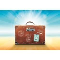 Valise départ en vacances