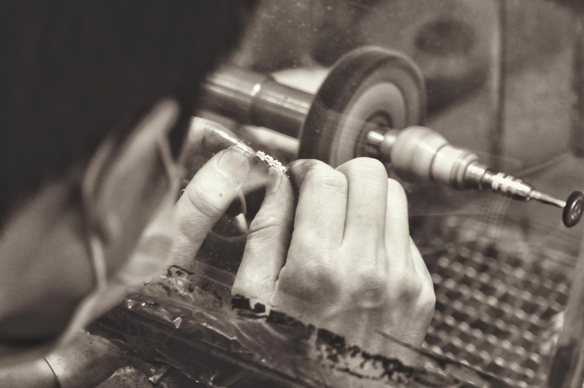 Atelier de gravure, secrets de créateur