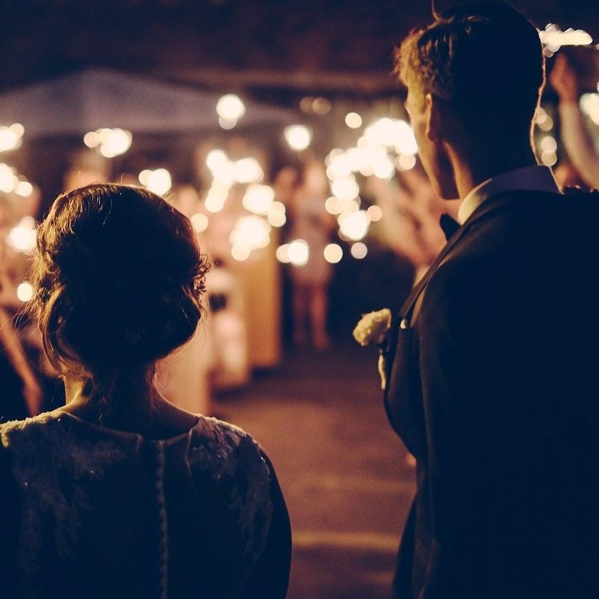 Atmosphère lumineuse pour un mariage en 2019